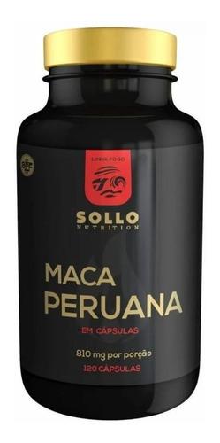 Maca Peruana Pura Original 120 Cápsulas Energia Resistência