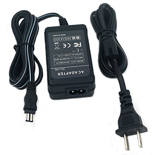 Cámara SLR Cargador adaptador de corriente alterna y cable de alimentación para SONY CCD-TRV36 DCR-TRV25 DCR-VX2000