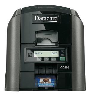 Impressora Datacard Cd800 Para Cartões De Pvc - Duplex *