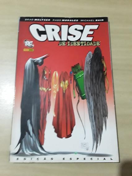 Hq Crise De Identidade Edição Especial Dc Comics