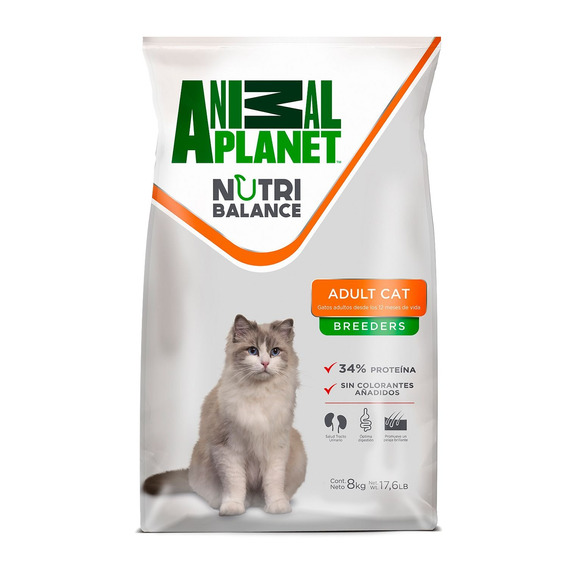 Animal Planet Alimento Gato Adulto 8 Kg