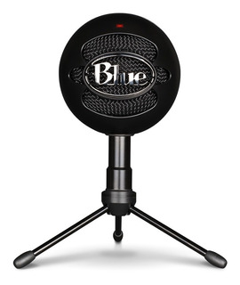 Microfono Streaming Blue Snowball Ice Black - Revogames
