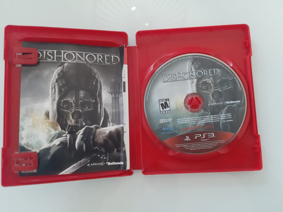 Dishonored Ps3 Midia Fisica