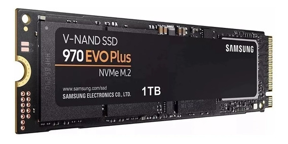 Ssd M2 Samsung 970 Evo Plus Nvme 1tb Mz-v7s1t0 Note Lenvo