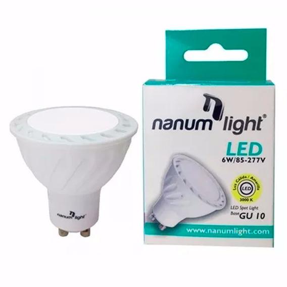 Bombillo Led Gu-10 / 6w / Luz Cálida Y Luz Blanca Nanumlight