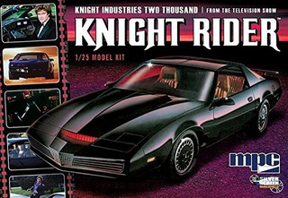 Mpc Auto Fantastico Kitt Knight Rider Esc 1/25