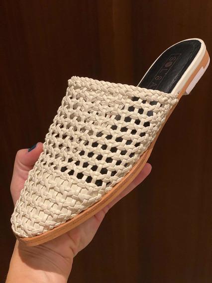 Zapatos Blancos Marca Sol Sana Talla 7