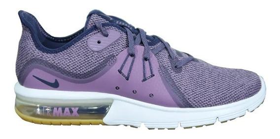 Tenis Nike Mujer Morado Air Max Sequent 3 908993501