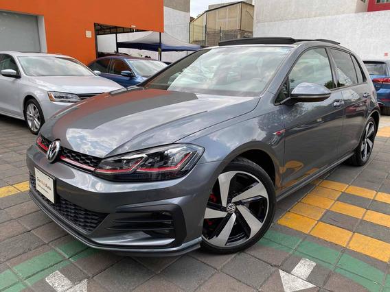 Volkswagen Golf Gti 2.0 Dsg Navegación Piel At 2019