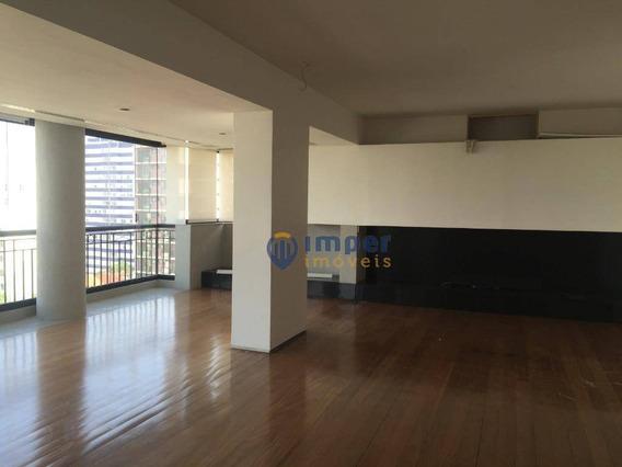 Apartamento Com 3 Dormitórios À Venda, 215 M² Por R$ 3.000.000 - Perdizes - São Paulo/sp - Ap12592