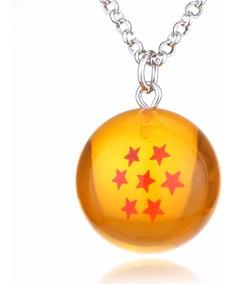 Colar Cordão Dragon Ball Z Goku Esfera Do Dragão 7 Estrelas