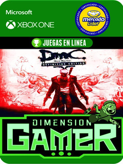 Dmc Devil May Cry Definitive - Xbox One - Online/offline