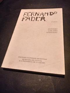 Fernando Fader -antonio Lascano Gonzalez