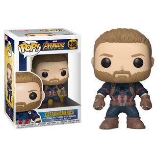 Funko Pop - Infinity War - Hulk - Iron Man- Capitan America
