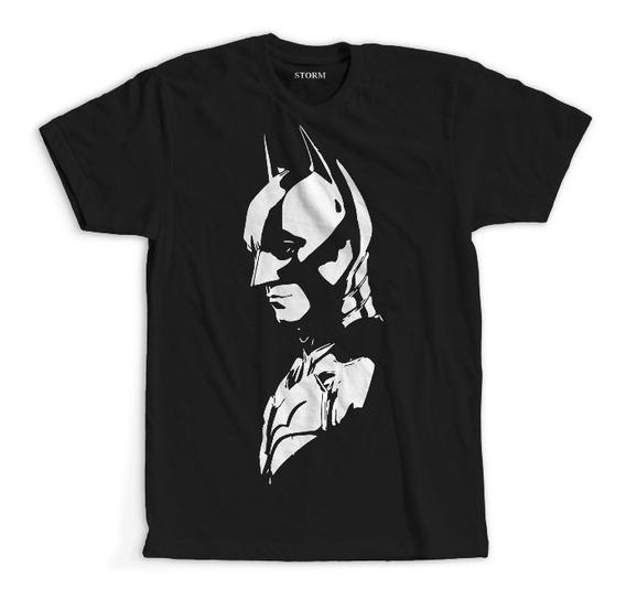 Remeras Batman The Dark Knight Dc Comics Algodón Premium