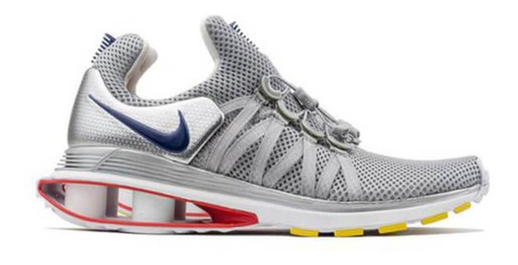 Tennis Nike Shox Gravity Plata Hombre Nuevos 28.5 Importados