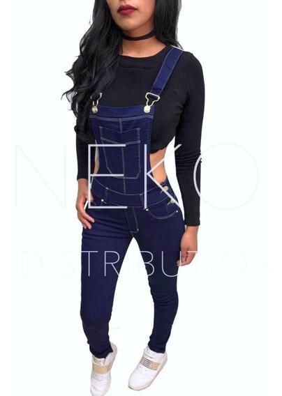 Overol Jeans Peto De Mezclilla Strech