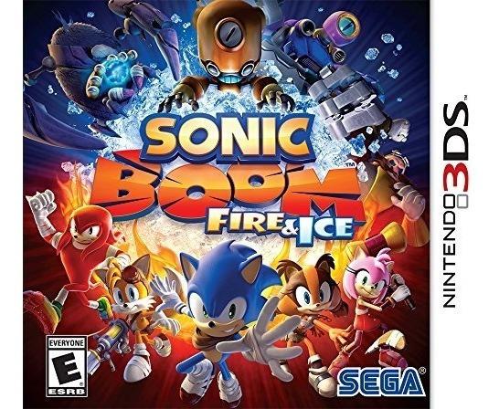 Sonic Boom: Fire & Ice Mídia Física Lacrado 3ds