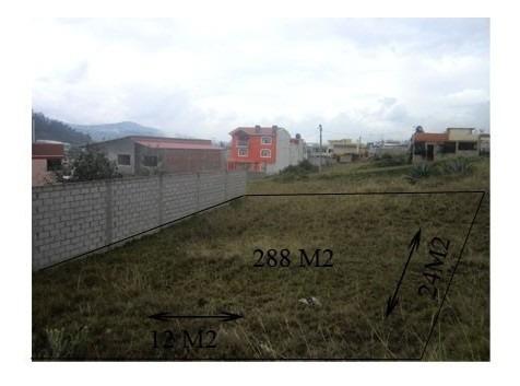 Terreno En Venta Sector Izamba Lote De 288 M2