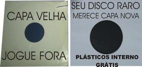50 Capas + 50 Interno Disco Vinil Lp Sacos Colecionador