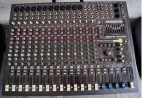 Mesa Mackie Cfx16 Mixer Melhor Preço Made In Usa