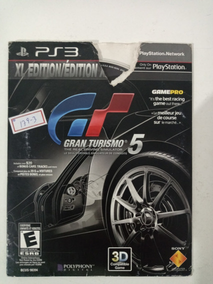 Sony Ps3 Gran Turismo 5 Original Lote179-2