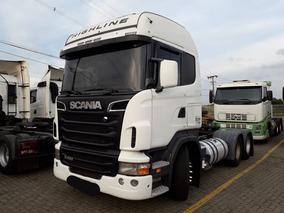 Scania R 420 6x4 Cabine Leito