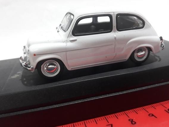 Solido 1/43 Fiat 600 Blanco 1962 Hobby-centro