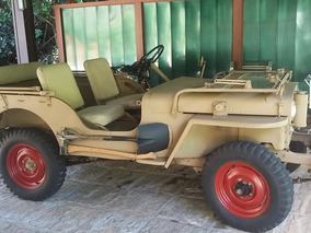 Jeep Willys 1948 Todo Original.