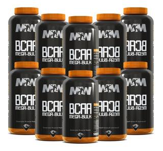 10x Bcaa Mega Bulk 100 Tabletes Ultra Concentrado