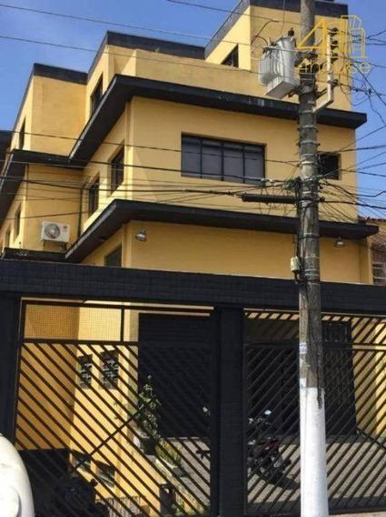 Sacomã - Prédio Comercial 800 M² 04 Paviemtos 02 Vagas 06 Banheiros Na Rua Do Chaco Para Venda. - Pr0040