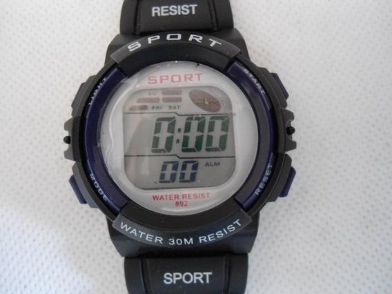 Relógio Sport Digita De Mostruário Novo- Promoção Unissex