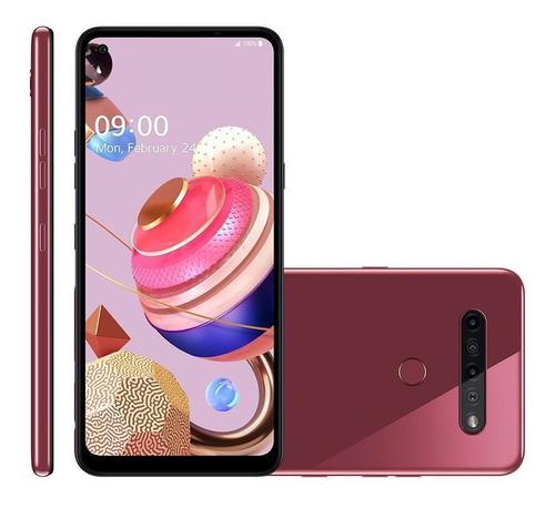 Smartphone LG K51s 64gb Quad Câmera Tela 6.5 4g Lmk510bmw
