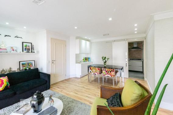 Apartamento No 6º Andar Mobiliado Com 3 Dormitórios E 2 Garagens - Id: 892968236 - 268236