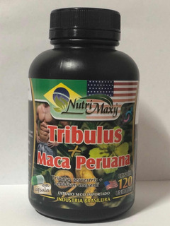Tribulus+maca Peruana Kit 2 Pote+ Guaraná Power Brinde+frete