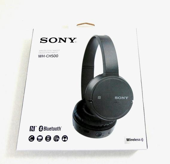 Fone De Ouvido Sem Fio Bluetooth Sony Wh-ch500 Nfc 20 Horas