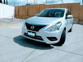 Nissan Versa 1.6 Sense Mt 2018 Verificado Y Emplacado Listo