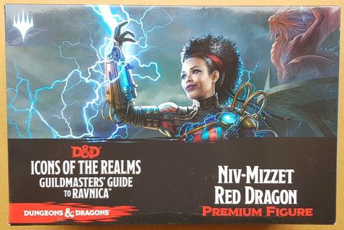 Miniatura De D&d Icons Of The Realms Mtg Niv-mizzet Nueva!!!