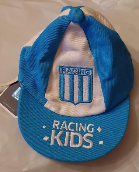 Gorro Visera Para Bebe De Racing Club