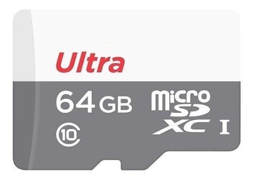 Cartao Memoria Micro Sdxc Ultra 80mb/s 64gb Sd Gopro Hero 3