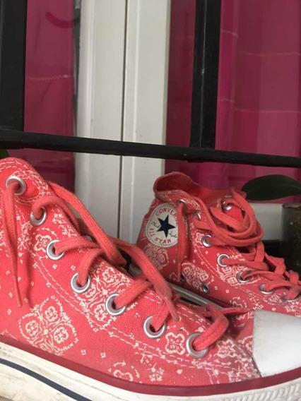 Zapatillas Converse Originales Divinas !! Media Plataforma .