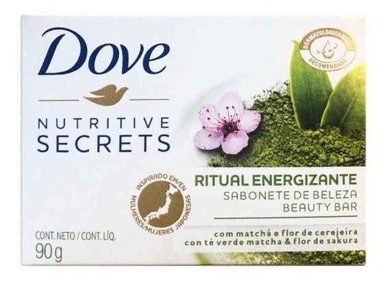 Sabonete Energizante Matchá E Flor De Cerejeira Dove - 90g