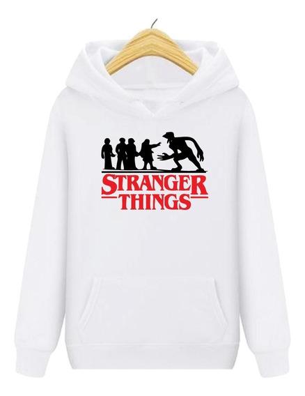 Buso Chompa Stranger Things Personalizado Estilo adidas