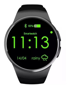 Relógio Smart Watch Pega Chip E Monitor Cardiaco Android Io