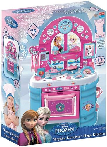 Gran Cocina Frozen Disney Juguete Niñas