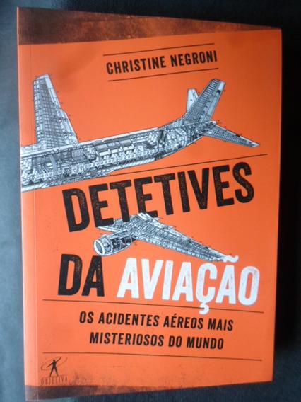 Livro Detetives Da Aviação