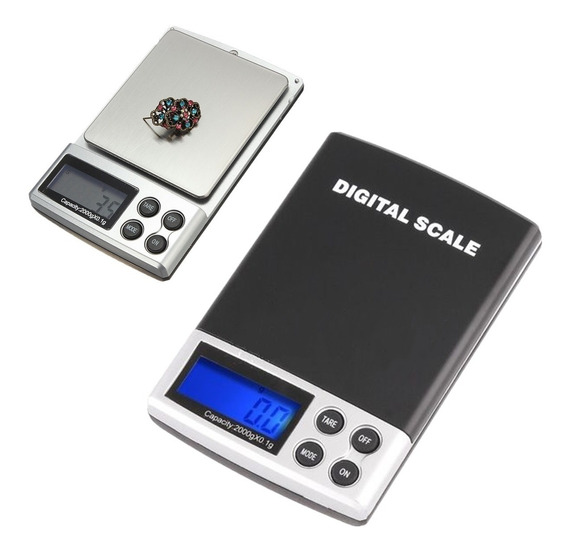 Bascula Para Joyas Digital Portatil 2000g X 0.1g Joyero