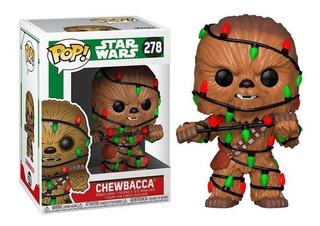 Funko Pop Chewbacca Navidad 278 Star Wars Baloo Toys