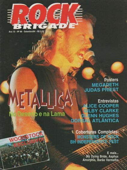 Rock Brigade 98 Metallica Kiss Megadeth Judas Priest Guns