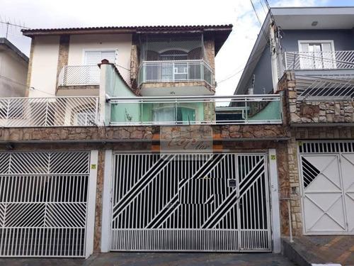 Sobrado Com 3 Dormitórios À Venda, 180 M² Por R$ 650.000 - Jardim Cidade Pirituba - São Paulo/sp - So0715